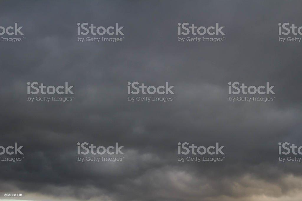 Nuvem negras foto royalty-free
