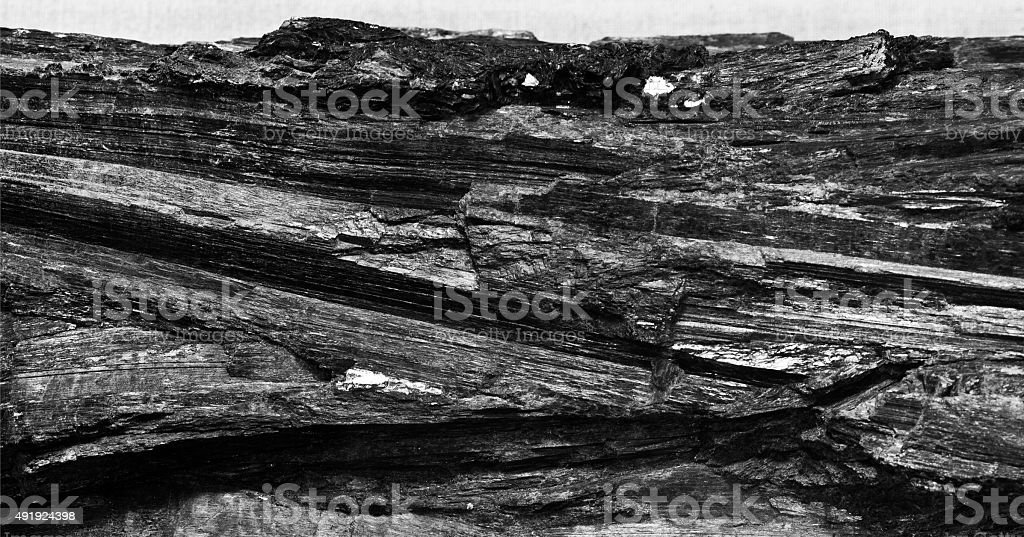 black coal stock photo