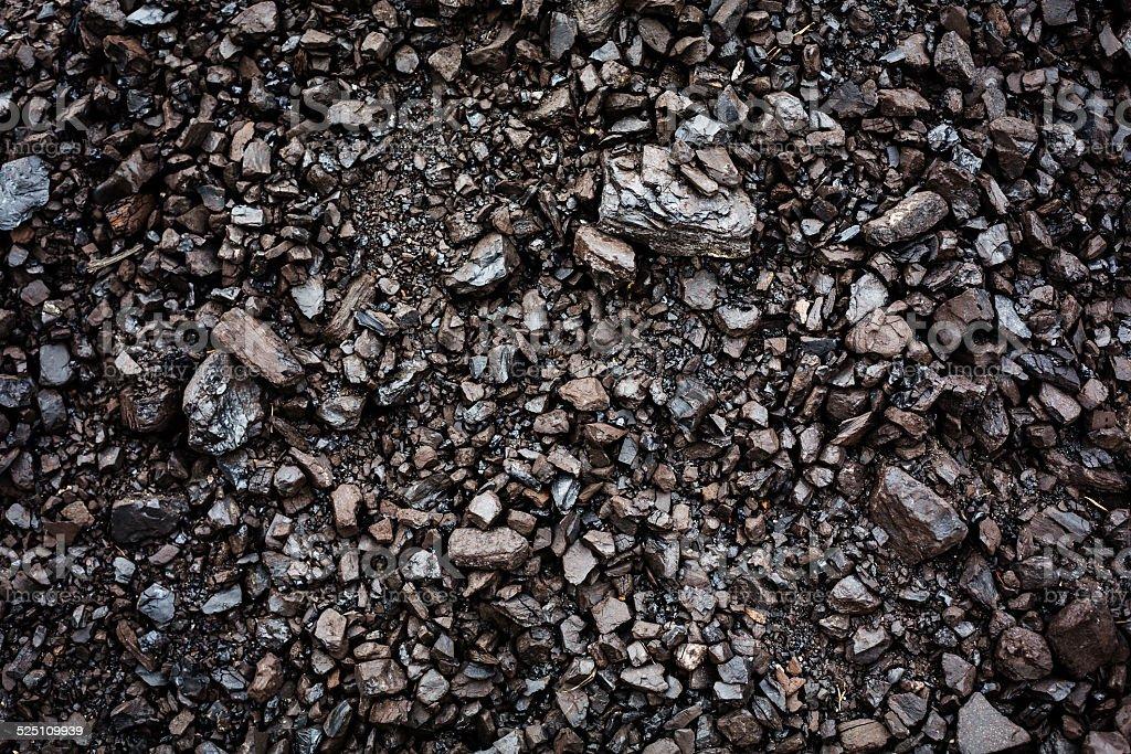 Black coal textured background stock photo