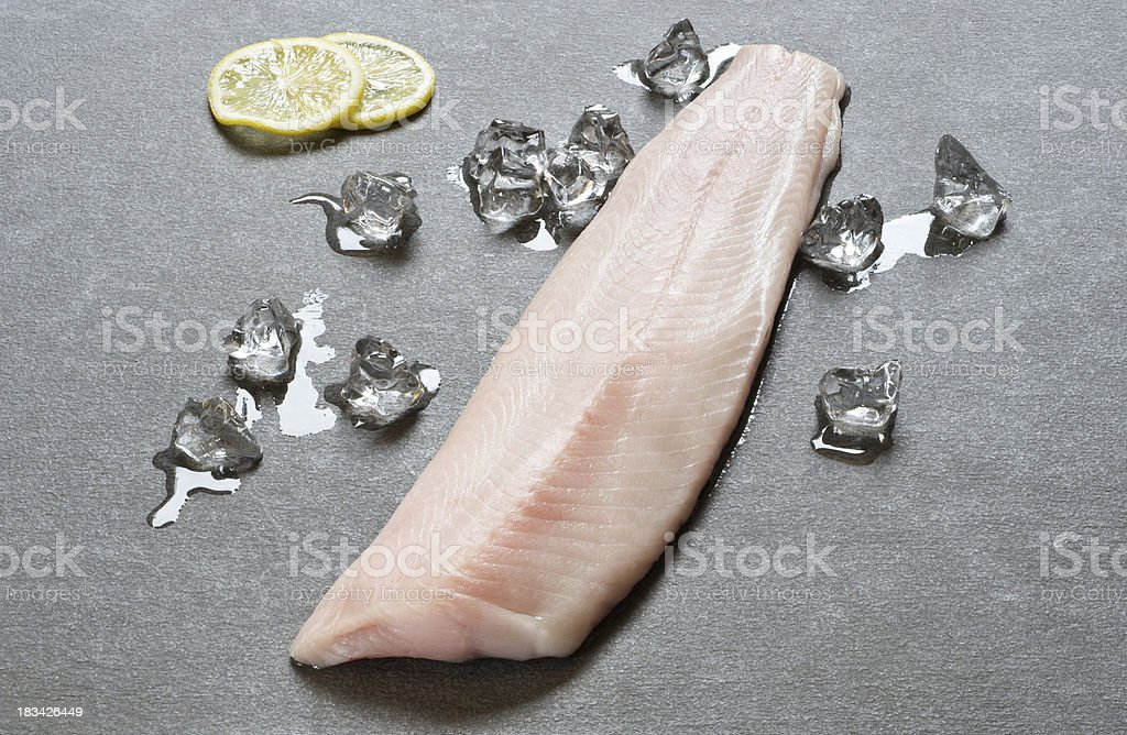 Black Cod Filet royalty-free stock photo