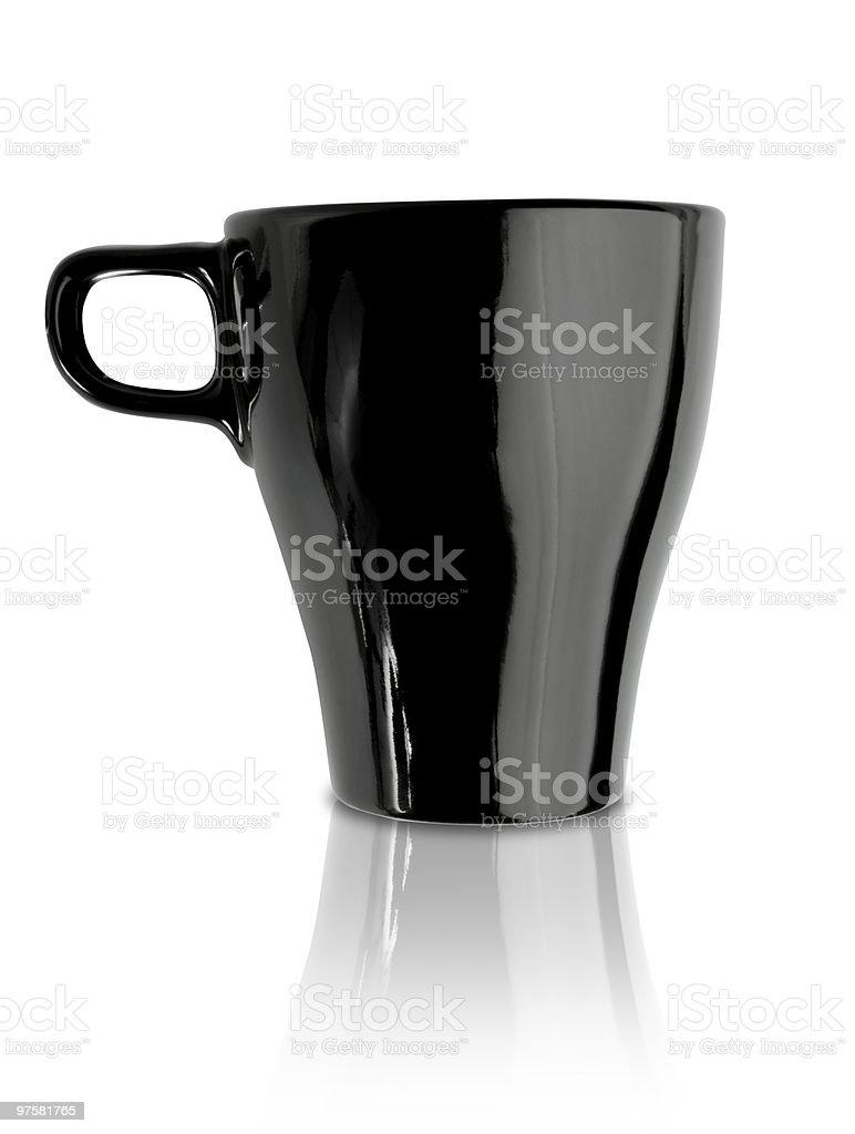 Tasse de café noir photo libre de droits