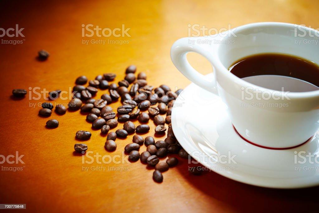 ブラックコーヒー  ストックフォト