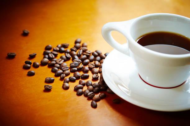 ブラックコーヒー  - コーヒー ストックフォトと画像