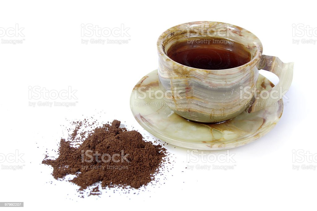 black coffee royalty free stockfoto