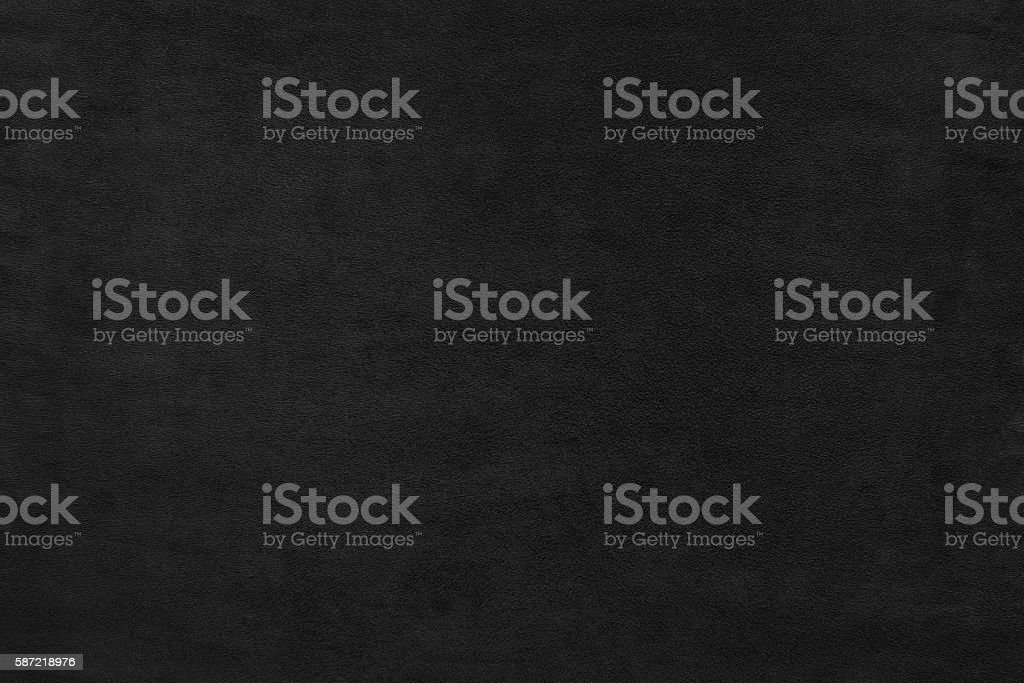 Black color velvet texture background - Photo