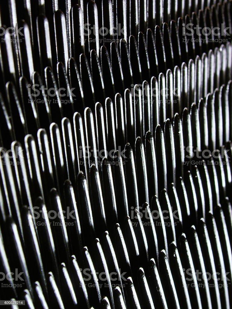Black combs 2 foto de stock royalty-free