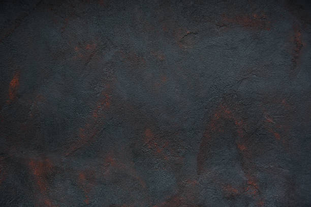Black concrete texture rusted- abstract background Black concrete texture rusted- abstract background rusty stock pictures, royalty-free photos & images