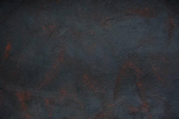 zwarte concrete textuur geroest-abstracte achtergrond - roestig stockfoto's en -beelden