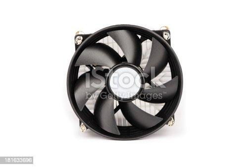 istock Black cooler on white background 181633696