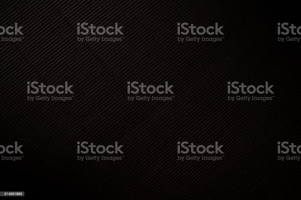 black Corrugated Cardboard stock photo
