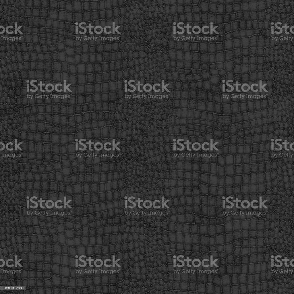 Black Crocodile Skin Textured Wallpaper Stock Photo Download Image Now Istock
