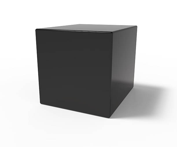 black cube - cube shape stock pictures, royalty-free photos & images