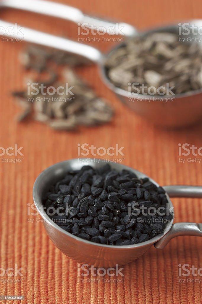 Black Cumin stock photo