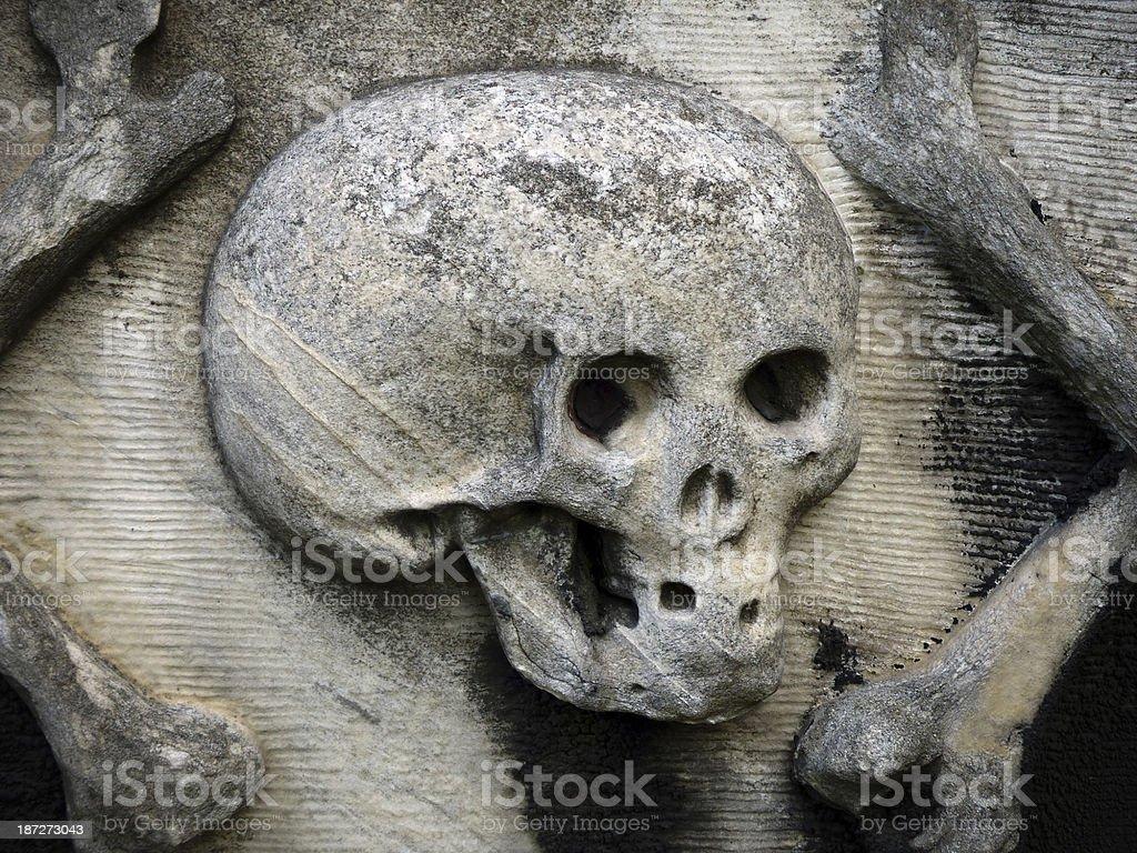 Black death stock photo