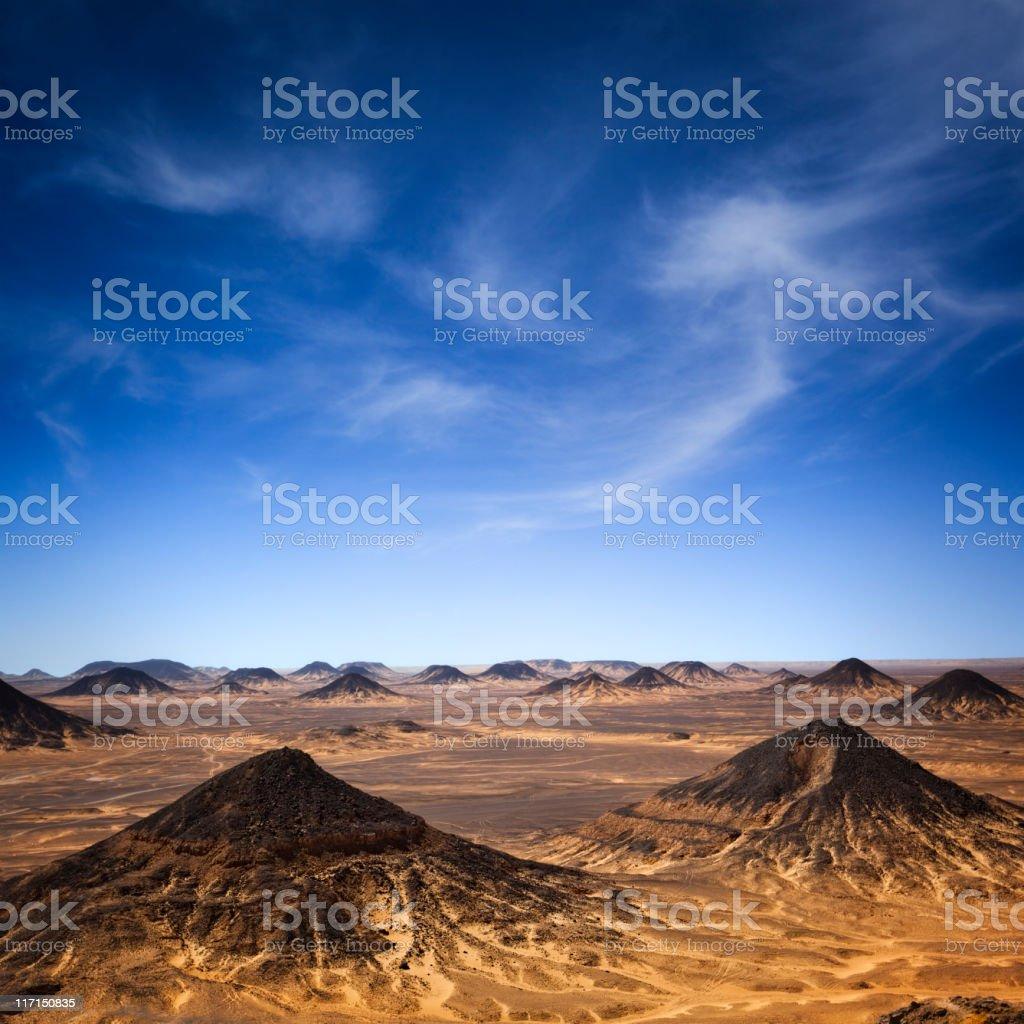 Black Desert Hills stock photo