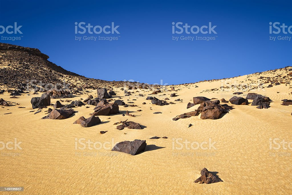 Black Desert royalty-free stock photo