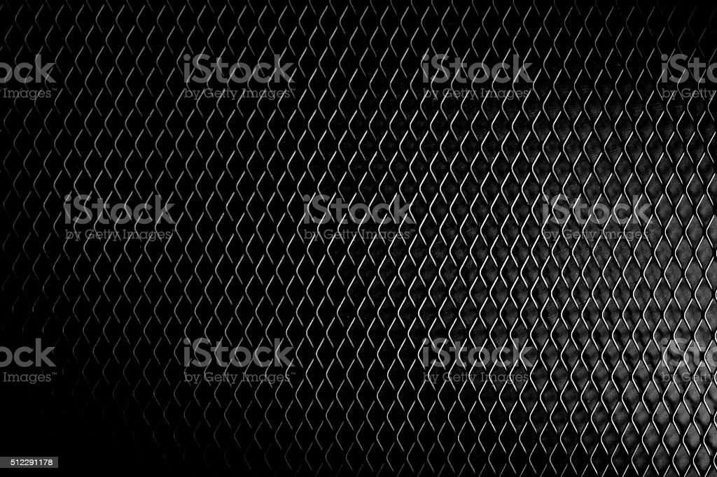 black detailed metal background stock photo