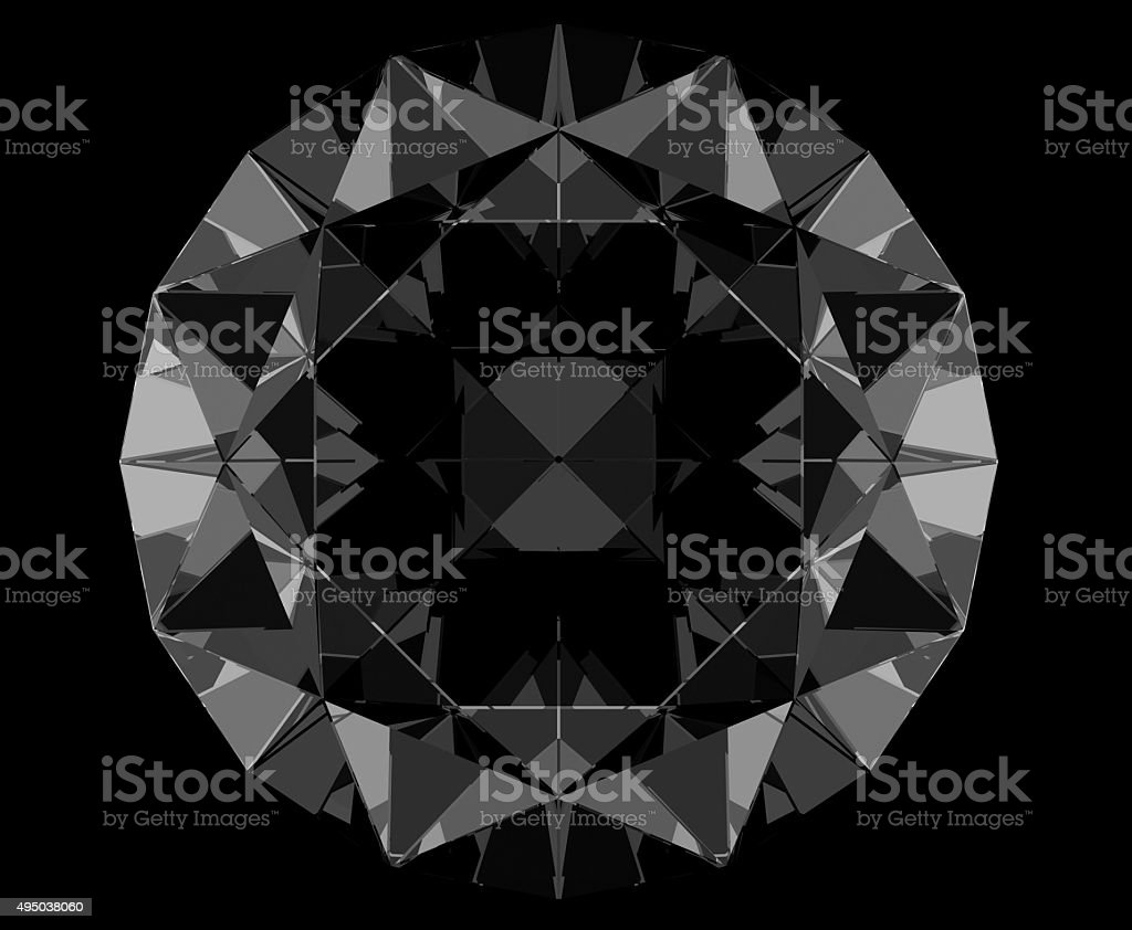 Black Diamond stock photo