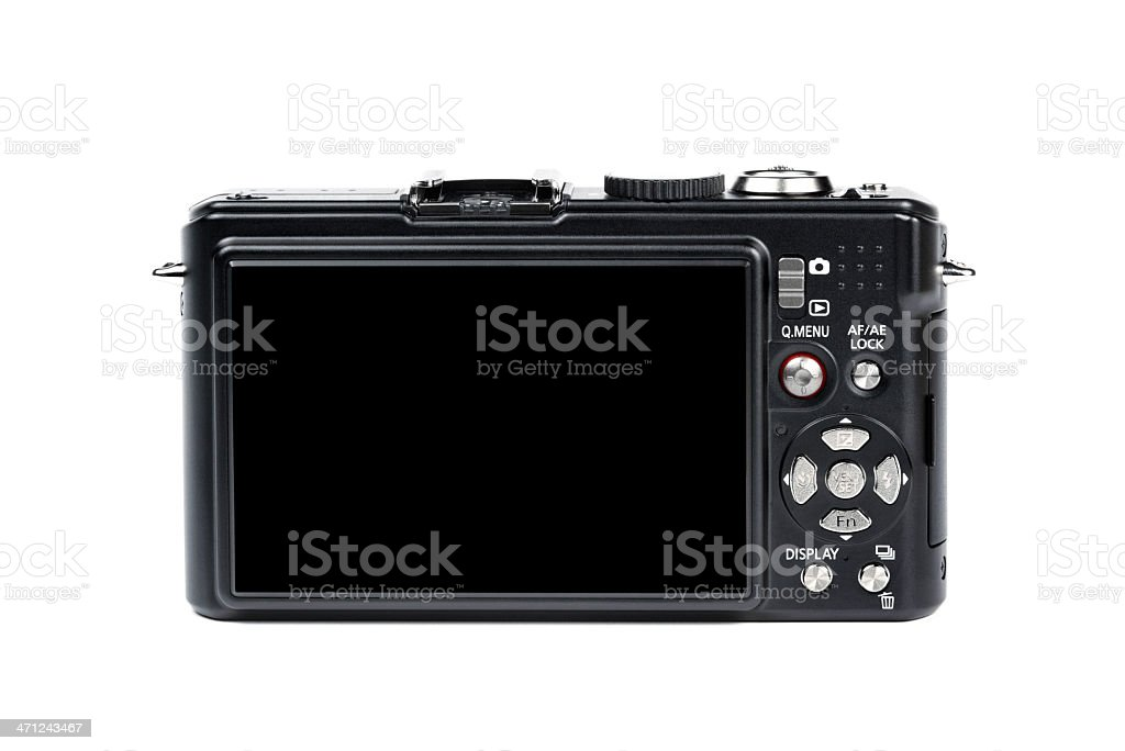 Black Digital Camera stock photo