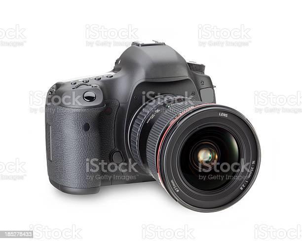 Black digital slr camera in a white background picture id185278433?b=1&k=6&m=185278433&s=612x612&h=ss8sjf3p6lr08fe15i6t5l bzuobfbawnupcjy5dmb4=