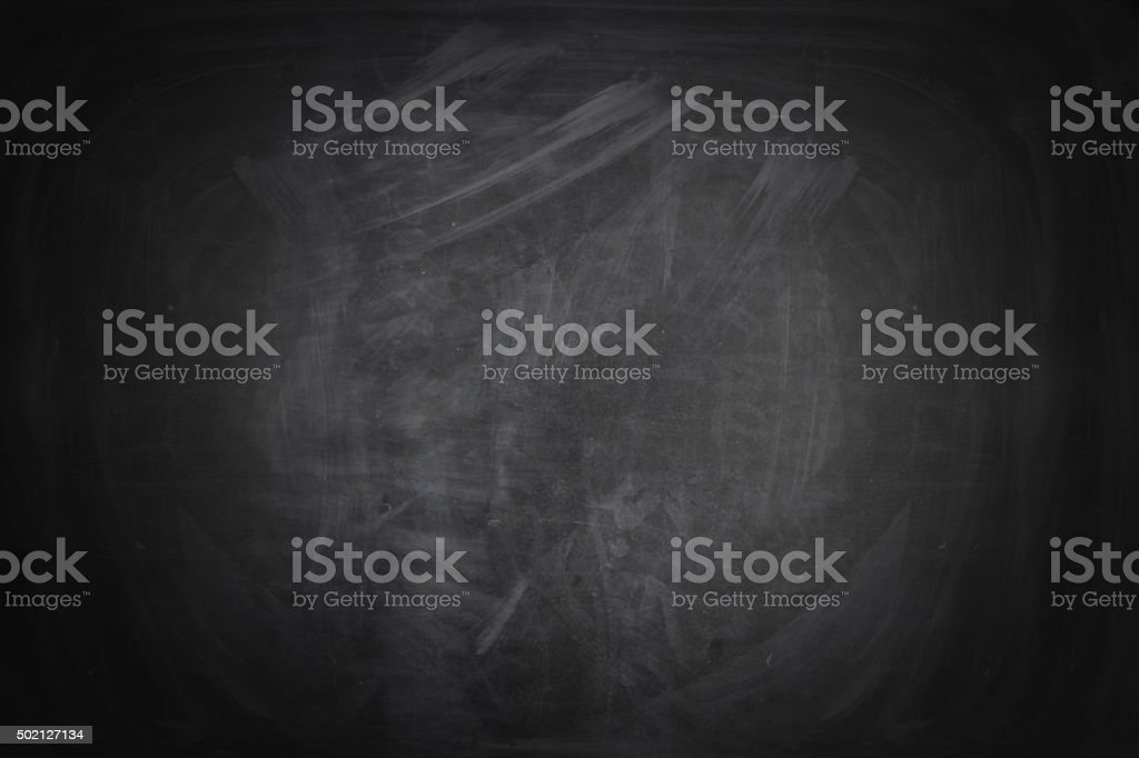 Black Dirty Chalkboard stock photo