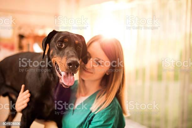 Black doberman on a medical exam at vets office picture id504928506?b=1&k=6&m=504928506&s=612x612&h=iwjmx0o  7kzzoqm1y9g7jnqhkzesur ihjhxutj3ia=
