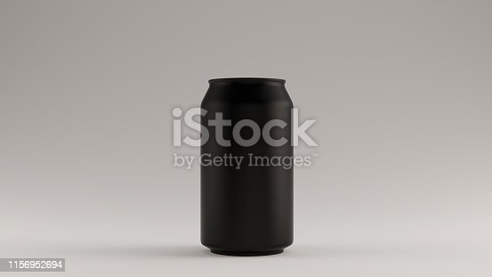 istock Black Drinks Can Beverage Soft Drinks 1156952694