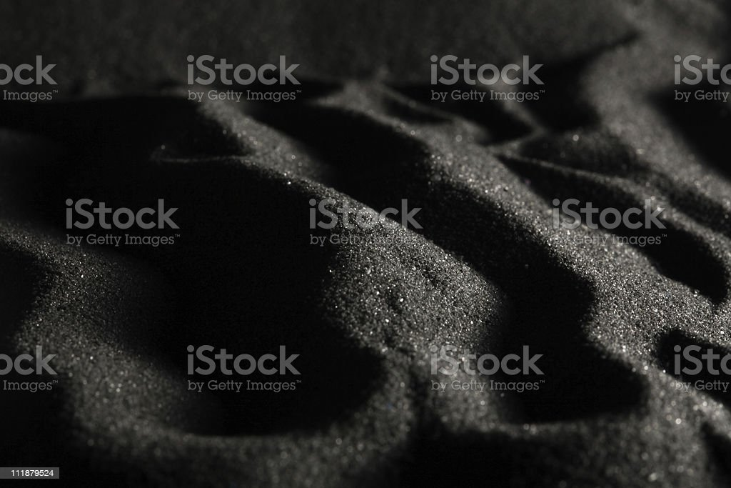 Black Dunes stock photo