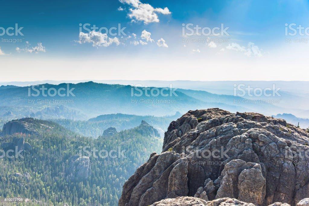 Black Elk Peak (Hinhan Kaga) Explored stock photo