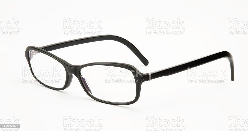 black eye glasses royalty-free stock photo