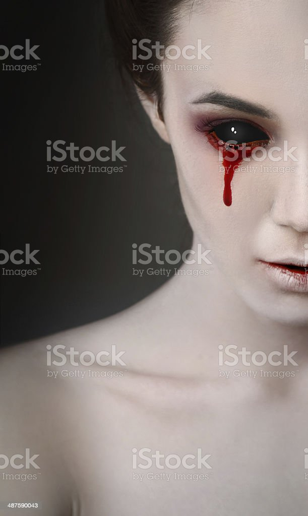 black eye stock photo