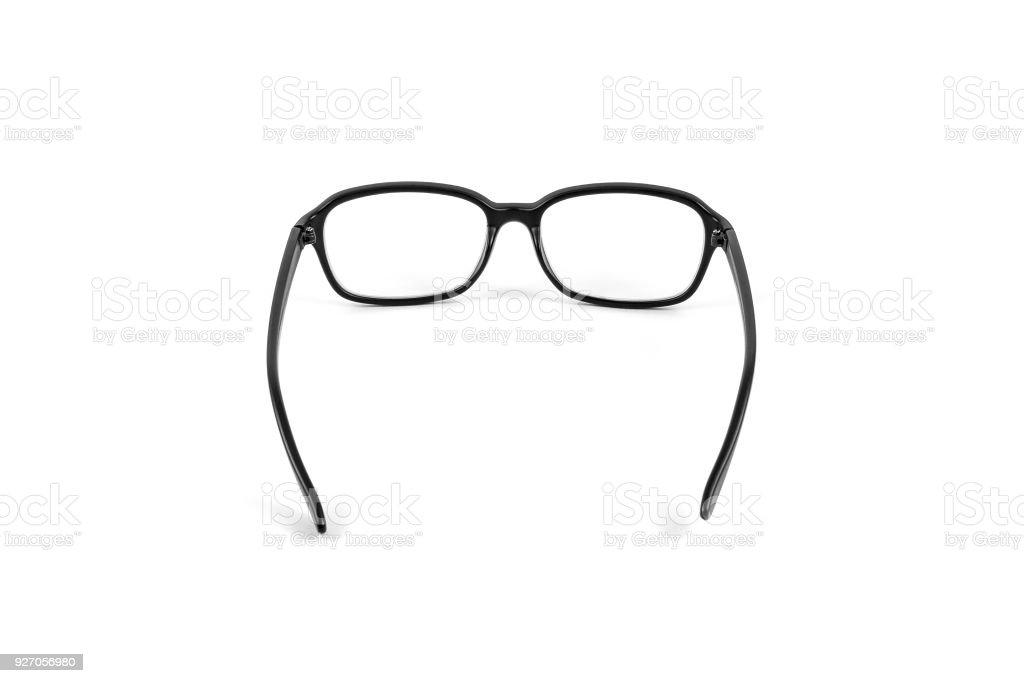 Black eye plastic glasses. – zdjęcie