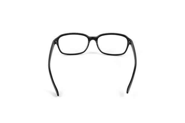 black eye plastic glasses. - back to school zdjęcia i obrazy z banku zdjęć
