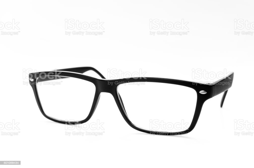 black eyeglasses – Foto