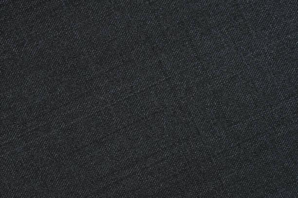 siyah kumaş doku 2 - tuval tekstil stok fotoğraflar ve resimler