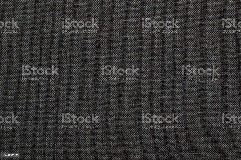 black fabric texture stock photo