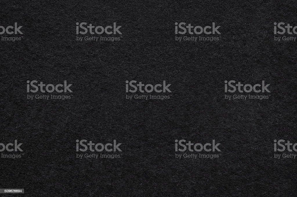 Black felt background stock photo