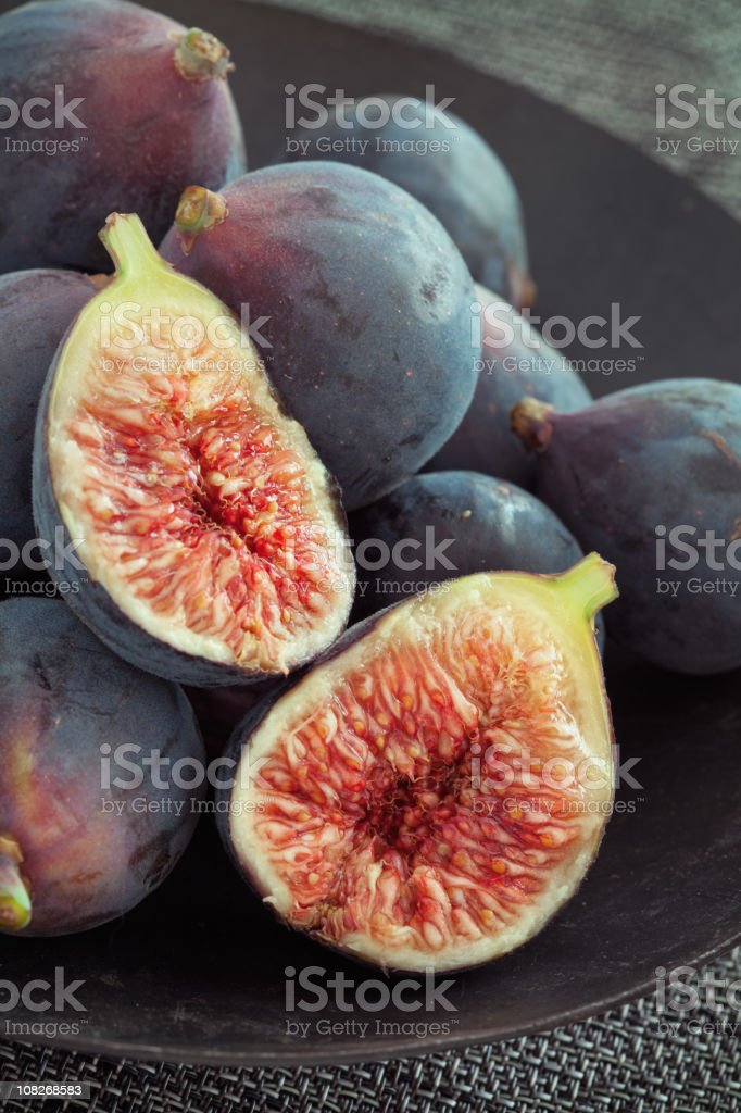 Black Figs royalty-free stock photo