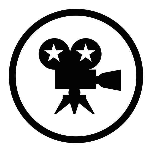 schwarzer film award - oscar filme stock-fotos und bilder