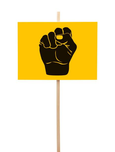 黑拳頭抗議 - black power 個照片及圖片檔