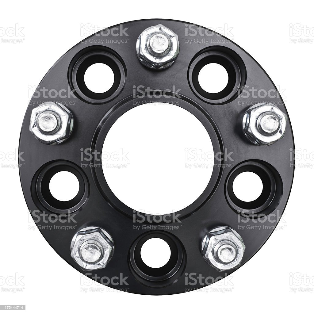 black flange royalty-free stock photo