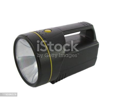 174913696 istock photo Black Flashlight 178596526