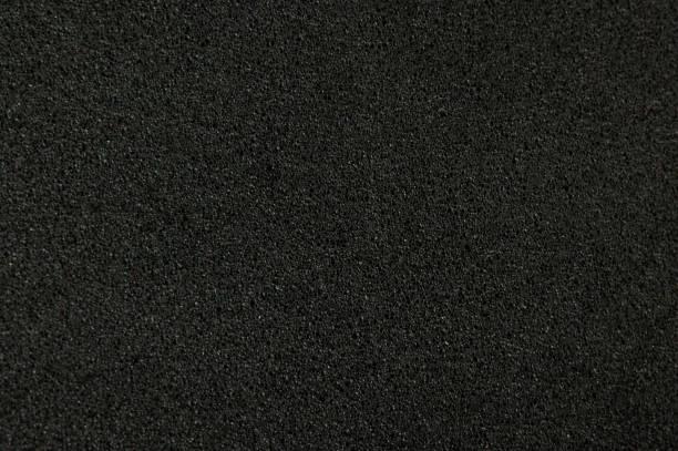 Schwarze Schaumstoff-Hintergrund – Foto