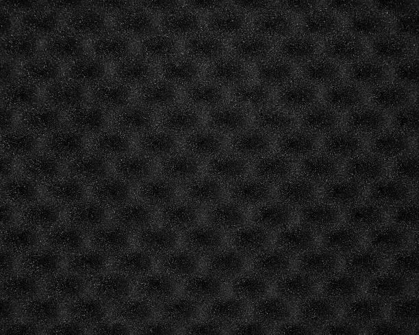 Black foam stock photo