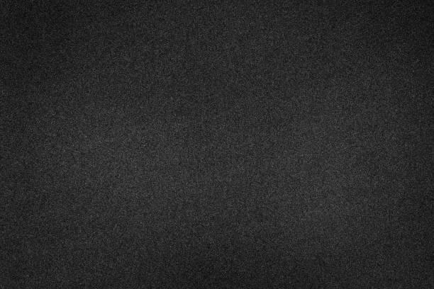 Fondo de textura de espuma negra. Estructura de caucho en blanco. - foto de stock