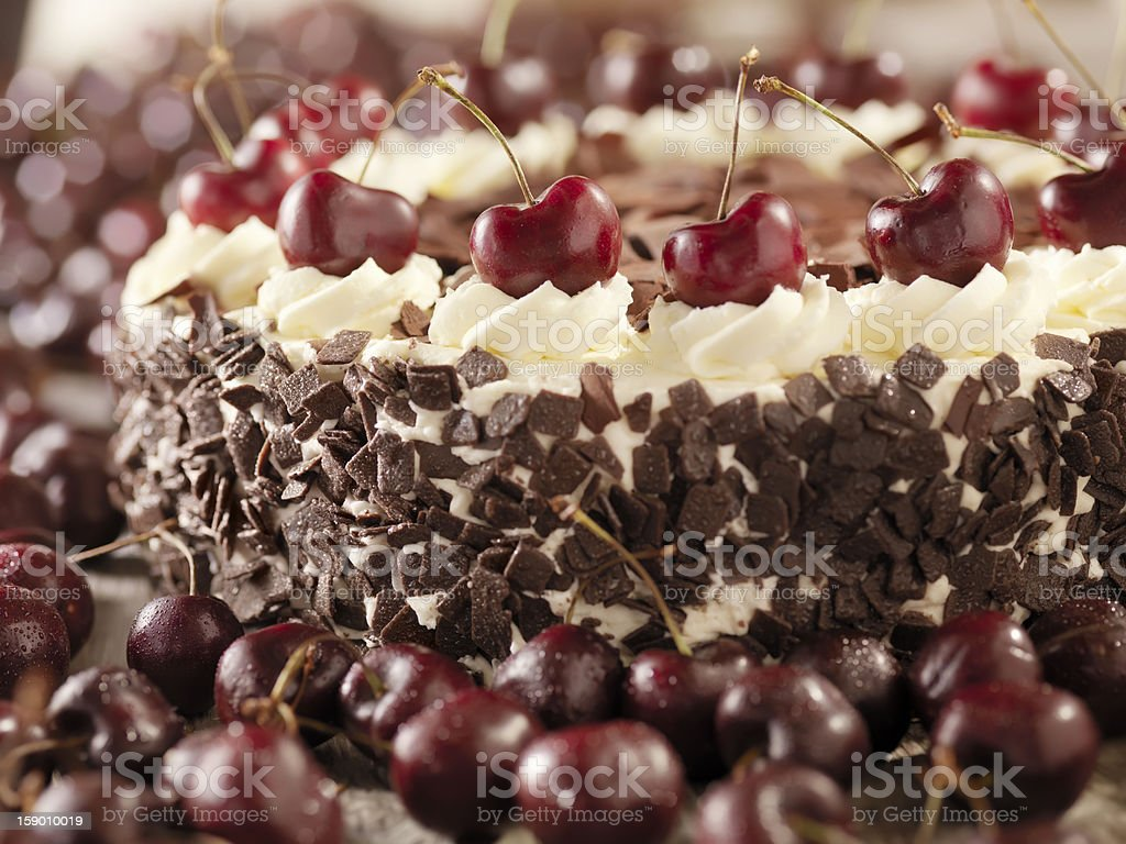 Black Forest Cake Stock Photo Istock