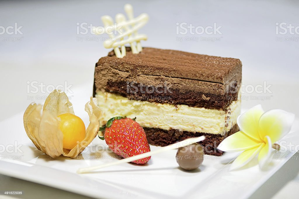 black forest cake royalty-free stock photo