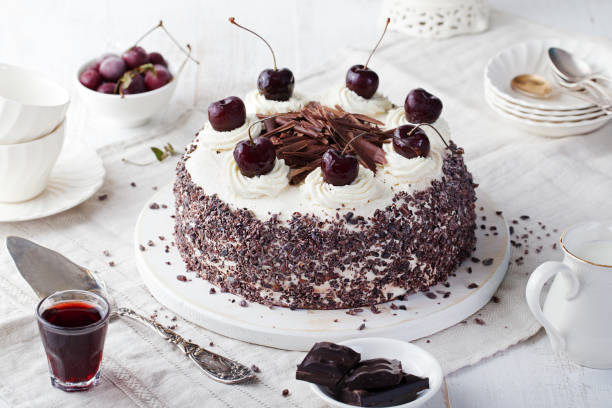 1,334 Black Forest Cake Stock Photos, Pictures & Royalty-Free Images - iStock