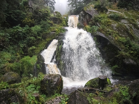 Black forest, Germany. The Triberg waterfalls