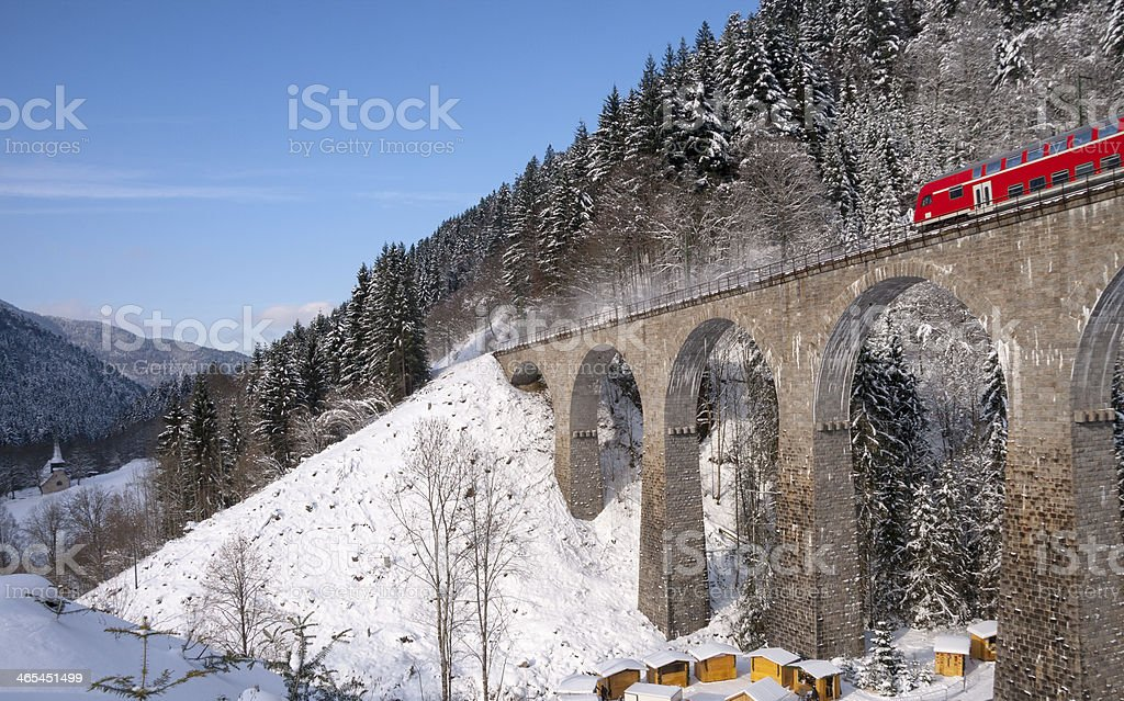 black forest viaduct royalty-free stock photo